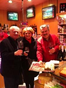 Juan Echanove, Esther García y Luis Pacheco